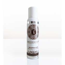 Tan spray autobronzant doré